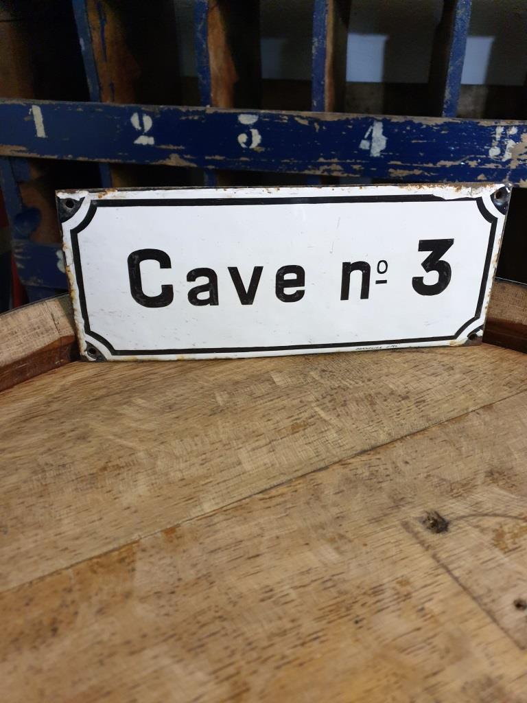 1 plaque emaillee caven 3
