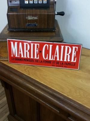 Plaque MARIE CLAIRE