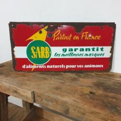 Plaque émaillée SARB