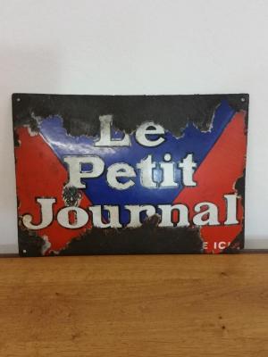 Plaque Petit Journal