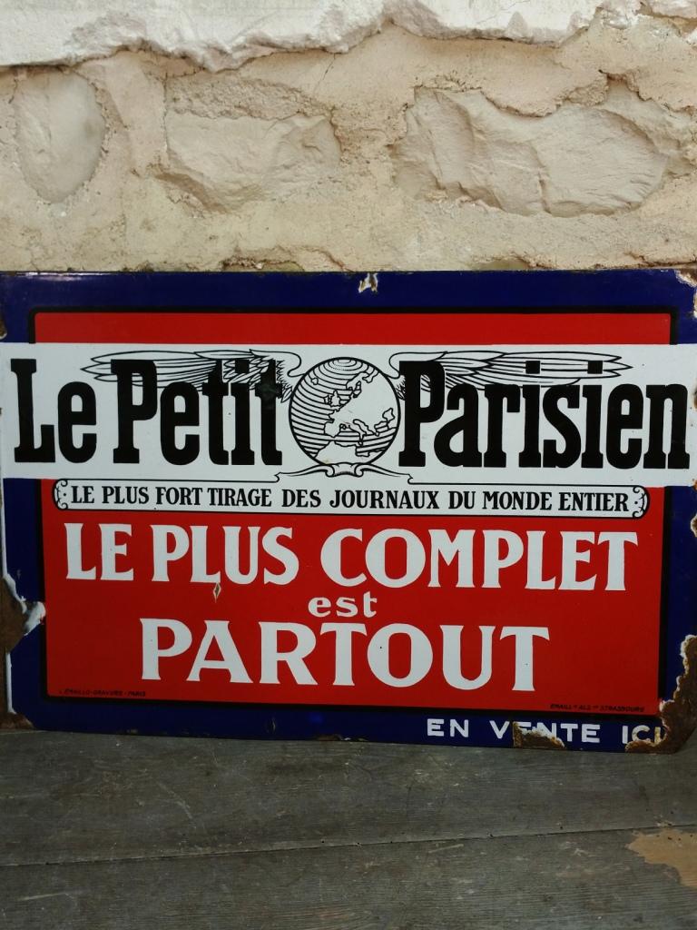 1 plaque le petit parisien 1