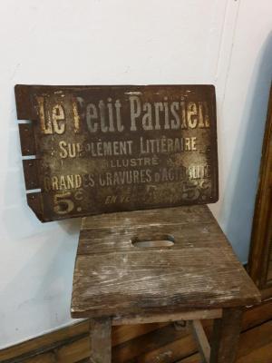 Tôle Le Petit Parisien