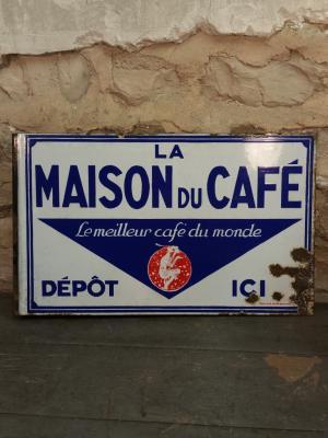 Plaque Maison du Café