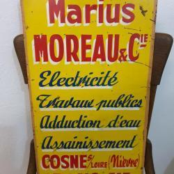 Publicité MOREAU & Cie