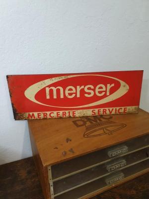 Plaque MERSER