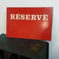 1 plaque reserve