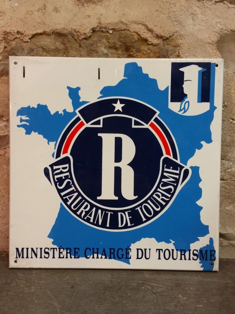 1 plaque restaurant de tourisme