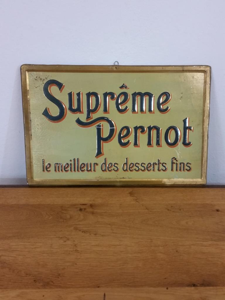 1 plaque supreme pernot