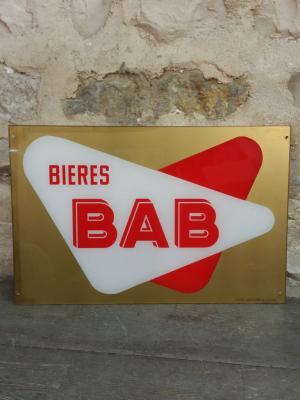 PLV Bière BAB