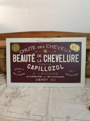 Publicité Capillozol