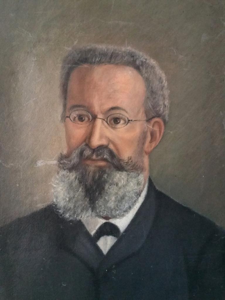 Portrait Homme Tableau Peinture Debut 20eme Siecle