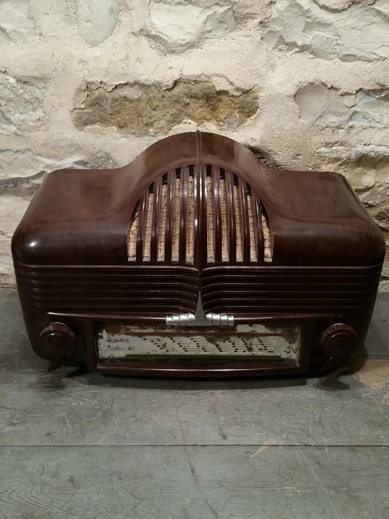 1 poste radio calandre 1