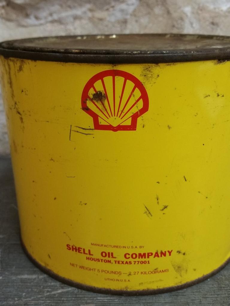 1 pot de graisse shell 1