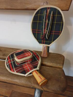 1 raquettes de ping pong
