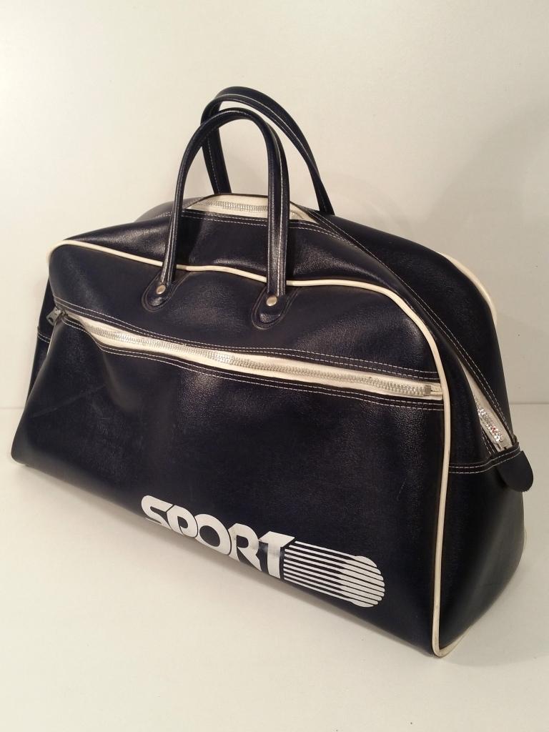 1 sac de sport vintage