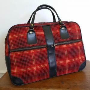1 sac de voyage ecossais