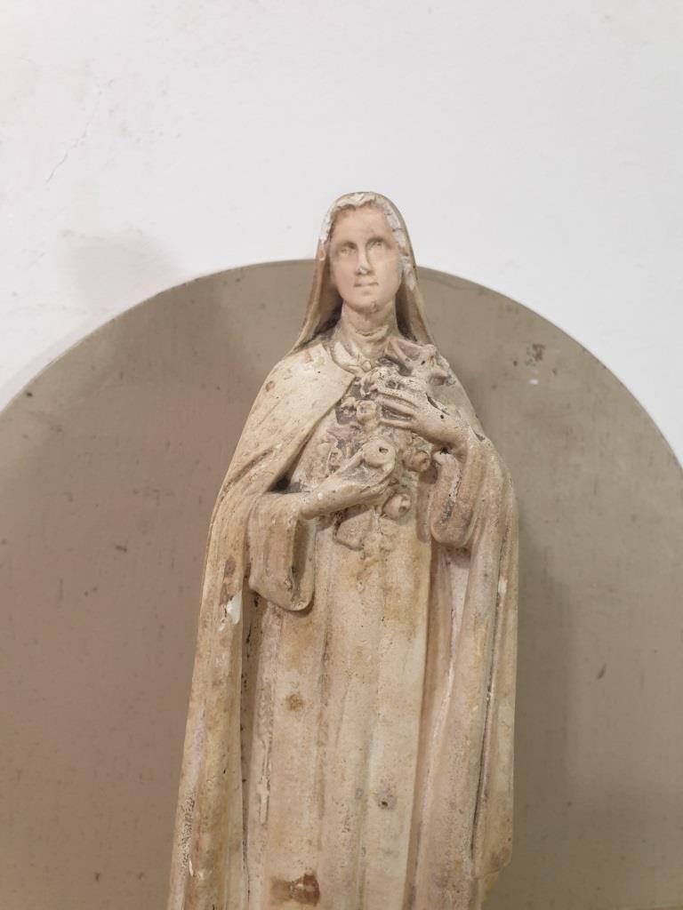 1 statue vierge marie