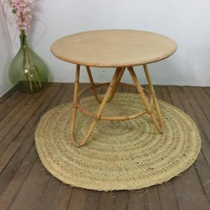1 table basse en bambou