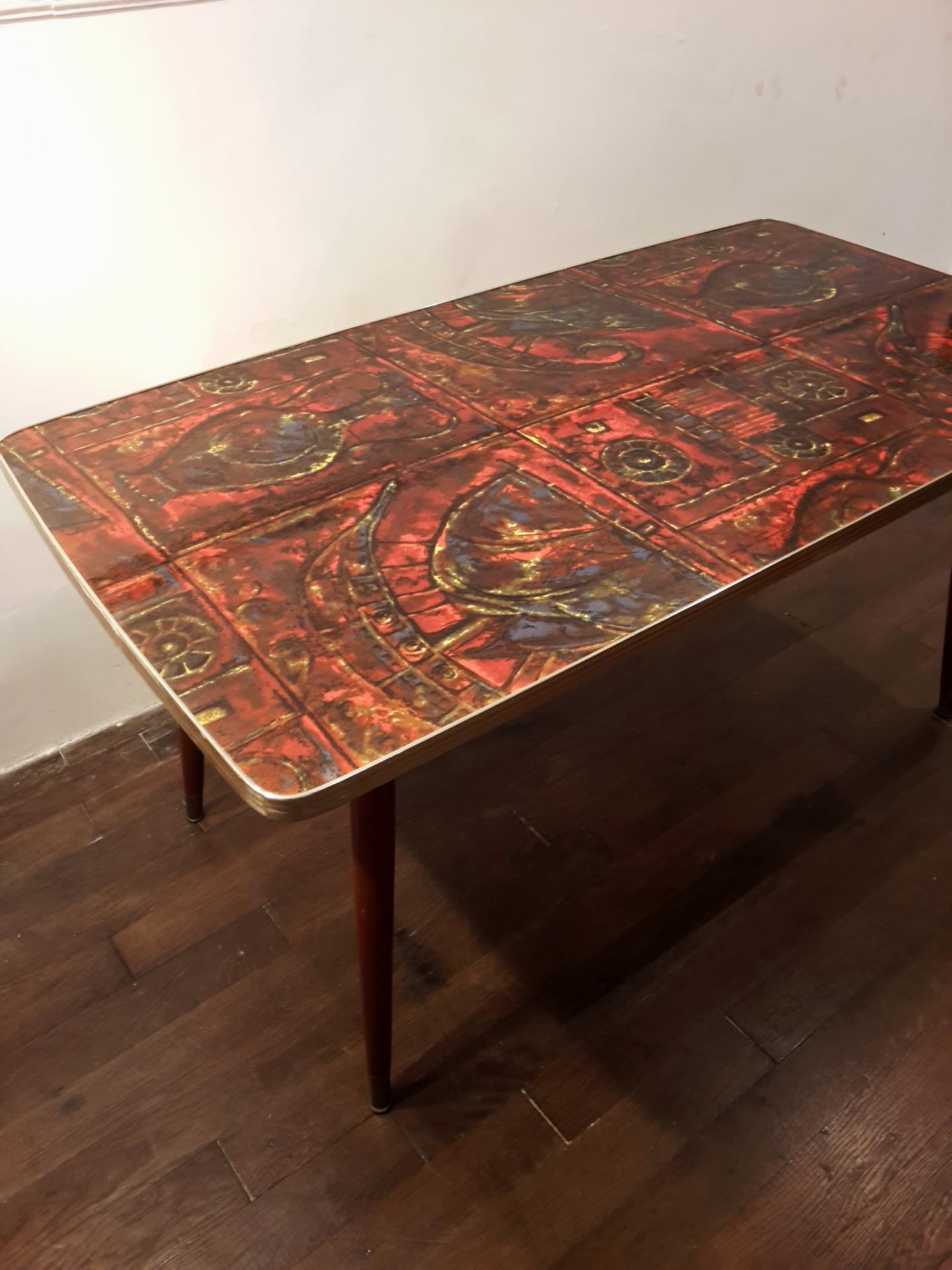 1 table basse en formica