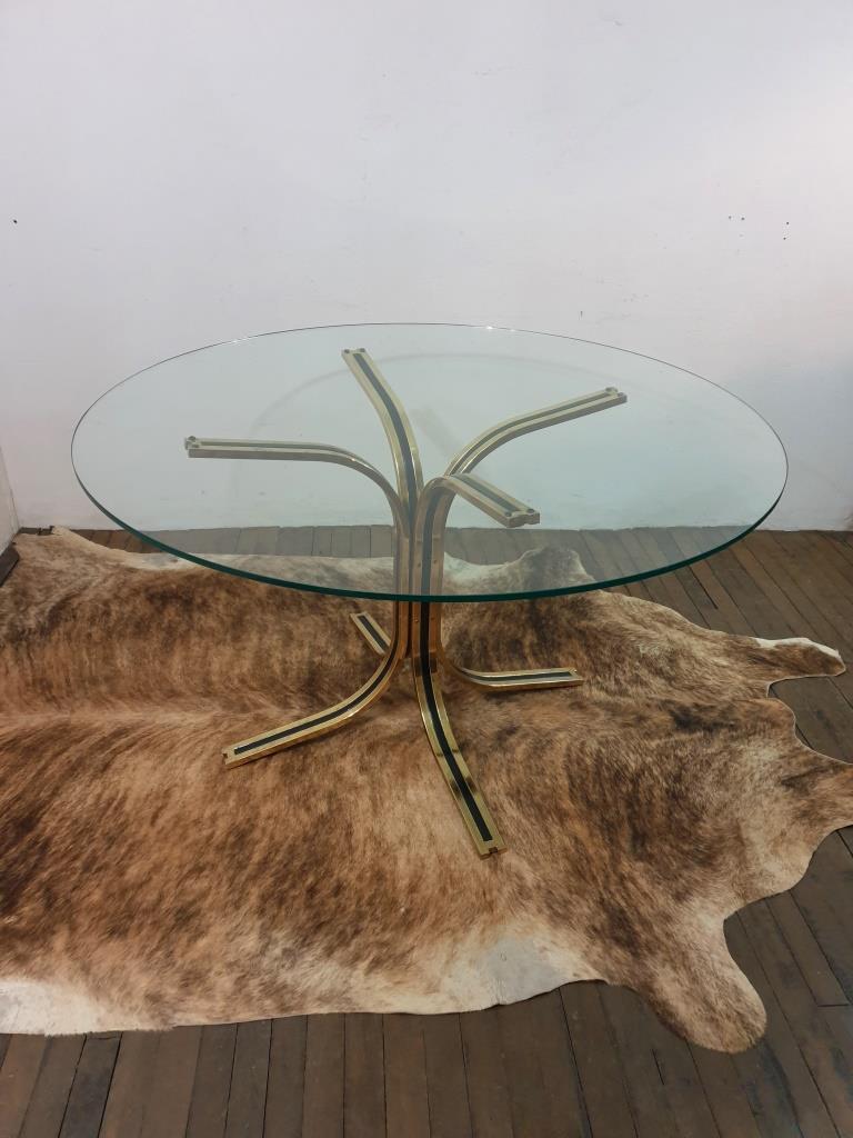 1 table en verre