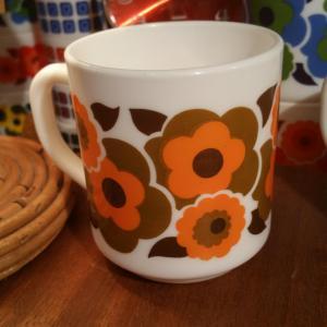 1 tasse mug lotus orange