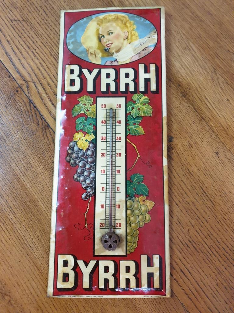 1 thermometre byrrh glacoide
