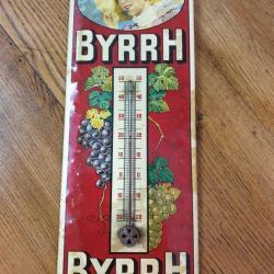 Thermomètre Byrrh