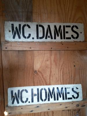 WC Dames & Hommes