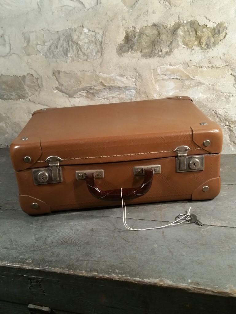 1 valise 60 marron