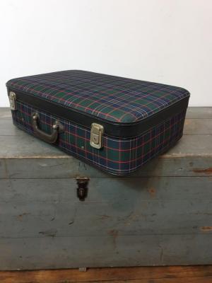 1 valise ecossaise