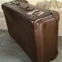 1 valise marron