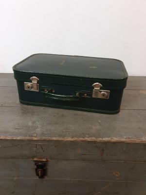 1 valise petite verte