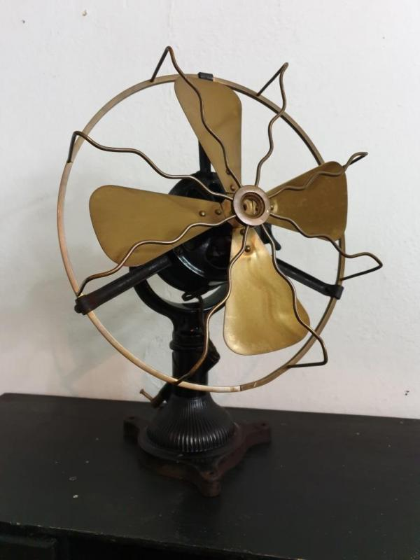 1 ventilateur helices laiton