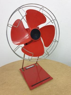1 ventilateur rouge thermozeta