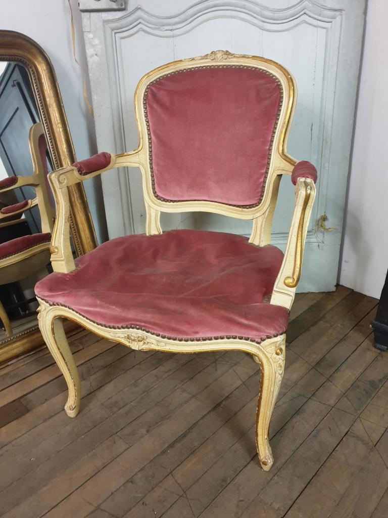 10 fauteuil louis xv