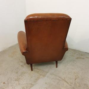 10 fauteuils cuir
