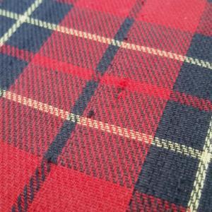10 valise tissu ecossais
