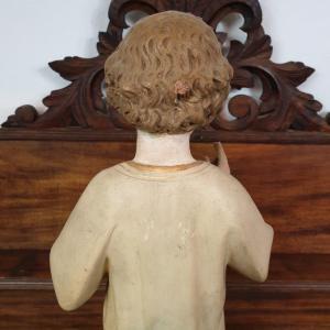 11 statue religieuse enfant