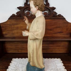 12 statue religieuse enfant
