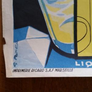 2 affiche de foot ricard sancerre