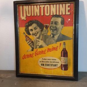 2 affiche encadree quintonine