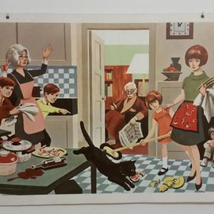2 affiche scolaire 1967 5 et 6
