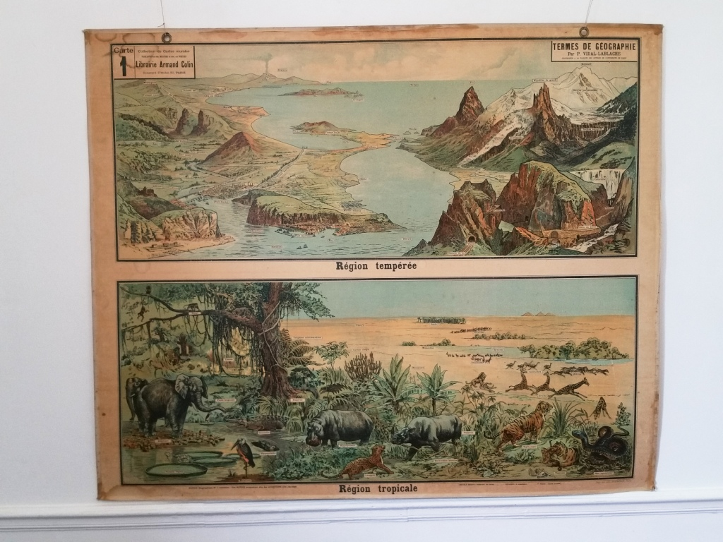 2 affiche scolaire geographie