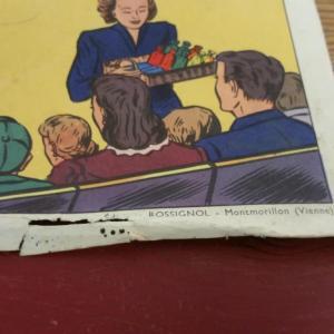 2 affiche scolaire rossignol cirque et averse