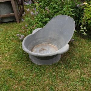 2 baignoire enfant en zinc