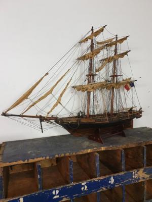 2 bateau vieux grement voilier l ouragan