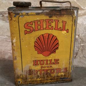 2 bidon huile shell moteurs