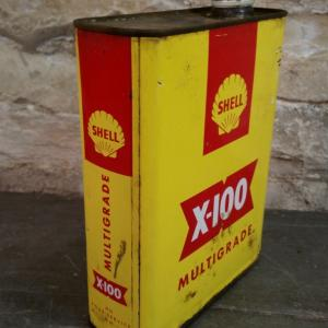 2 bidon huile shell x100