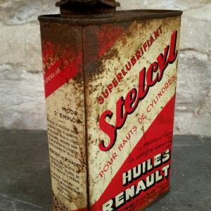 2 bidon huile stelcyl renault