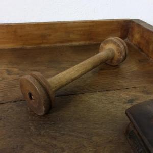 2 bobine de fil en bois